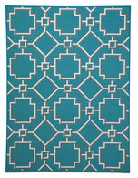 Ashley Zarek Turquoise Medium Rug