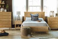 Ashley Klasholm Light Brown Twin Panel Bed