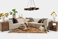Jonathan Louis International Six-Piece Sectional Sofa