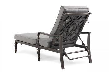 World Source Savannah Chaise Lounger with Cushion