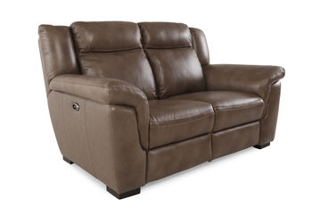 Boulevard Leather Power Reclining Loveseat