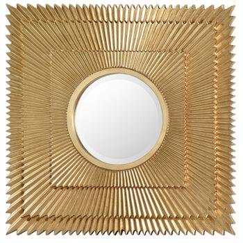 Uttermost Soriano Gold Starburst Mirror