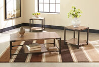 Ashley Dexifield Light Brown Occasional Table Set