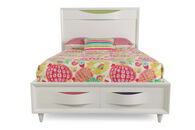 Magnussen Home Crayola Colors Snow White Twin Bed