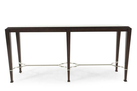 Bernhardt Brentford Espresso Console Table