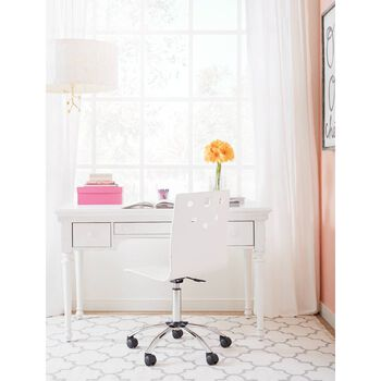Stone & Leigh Smiling Hill Marshmallow Desk Chair