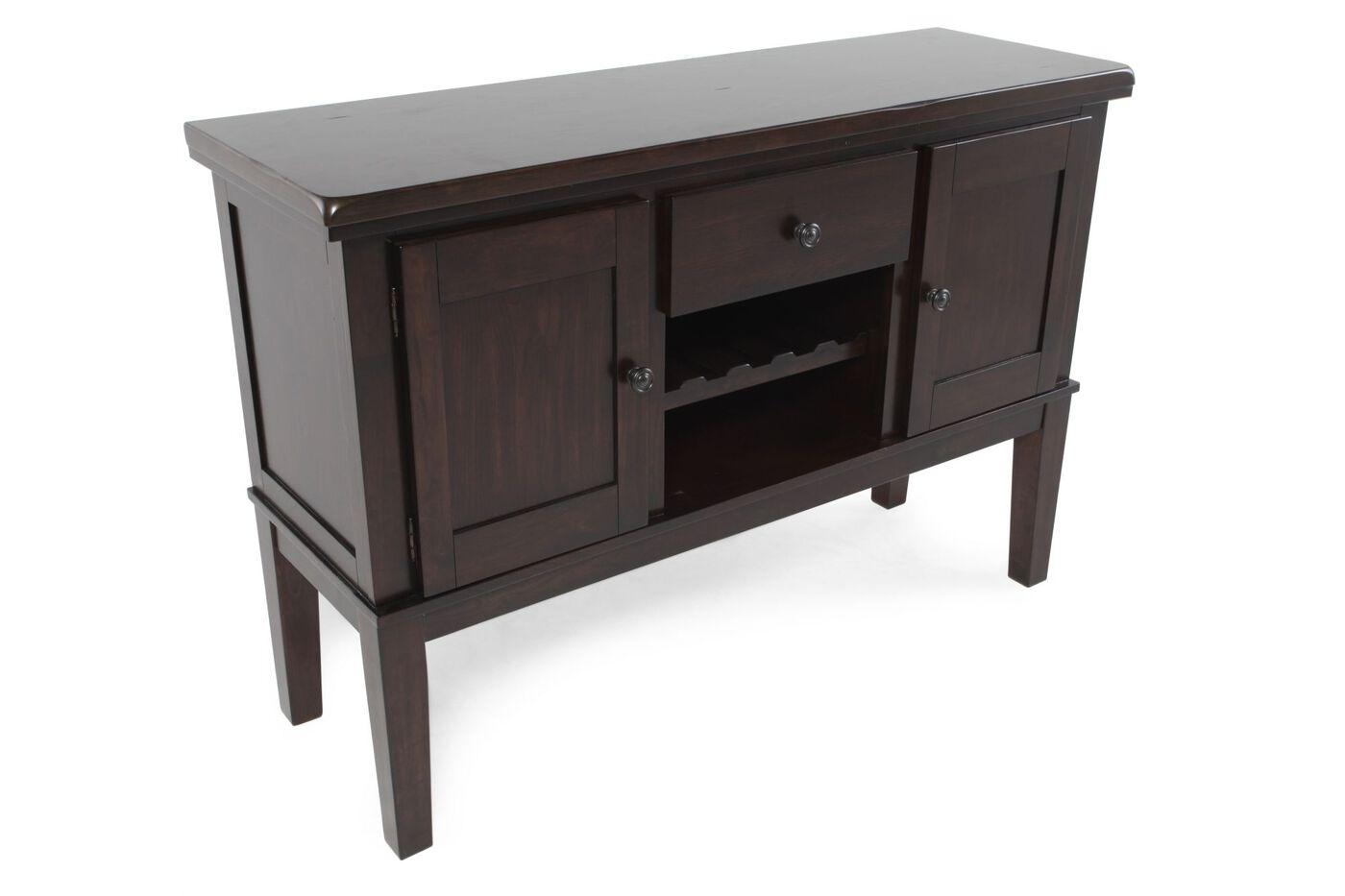 Ashley Haddigan 56 Server Mathis Brothers Furniture