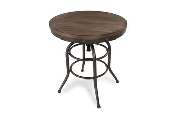 Ashley Adjustable Round End Table