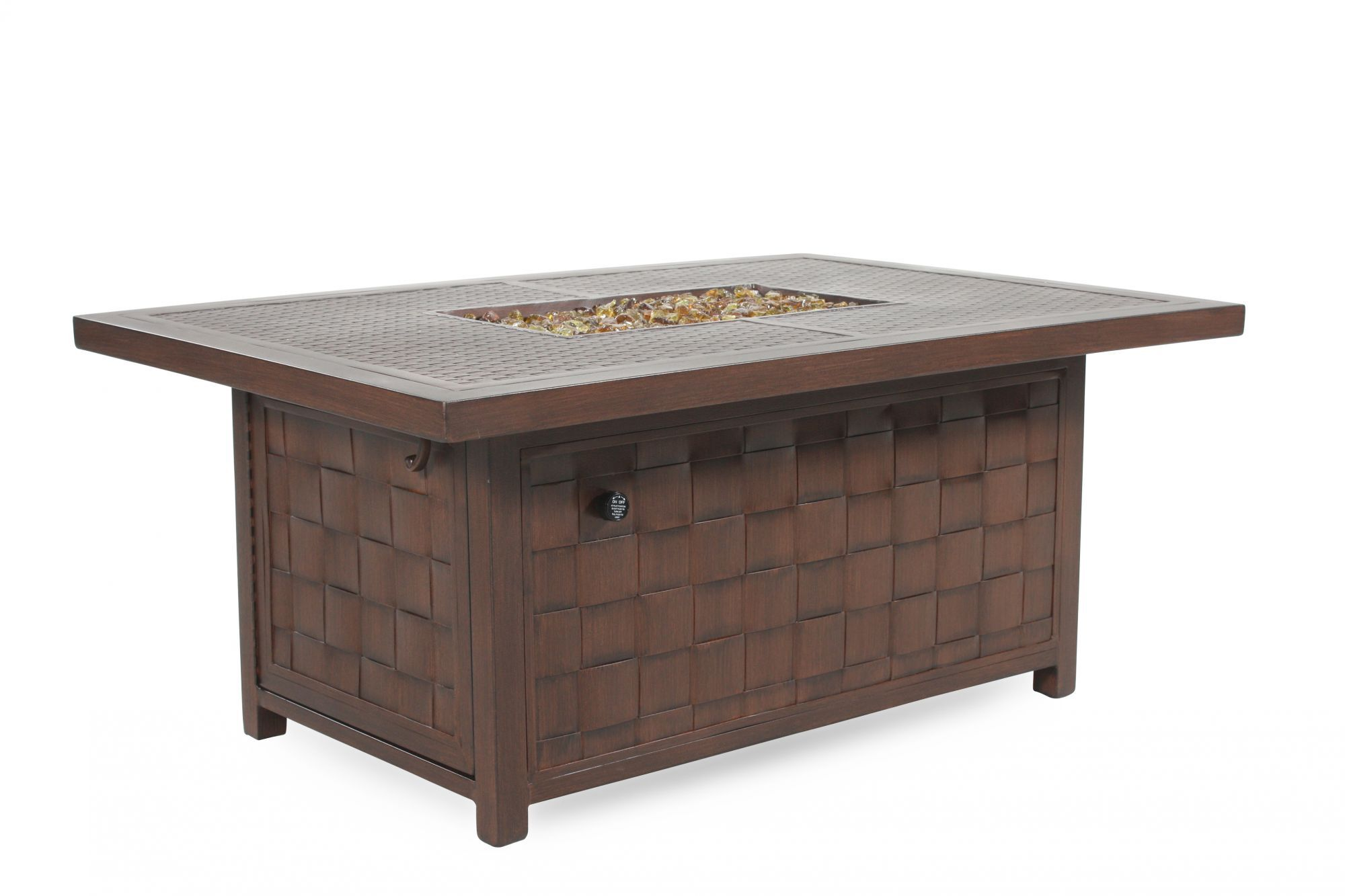 ... Castelle Spanish Bay Patio Fire Pit Coffee Table ...