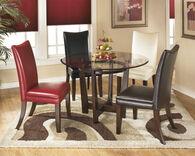 Ashley Charrell Medium Brown Round Dining Room Table