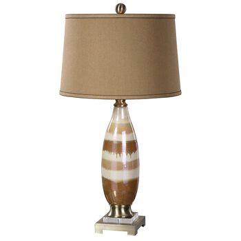 Uttermost Albiolo Ivory Ceramic Lamp