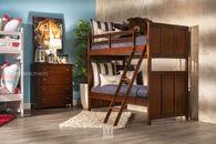 Legacy Tara Cherry Twin Over Twin Bunk Bed
