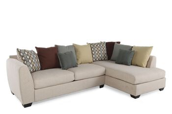 Ashley Casheral Linen Two-Piece Sectional