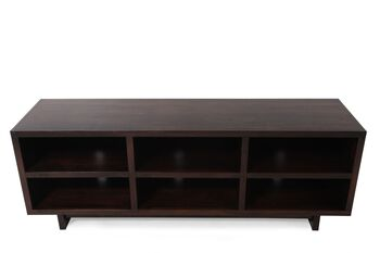 Aspen Walnut Heights 65 Inch Console Mathis Brothers