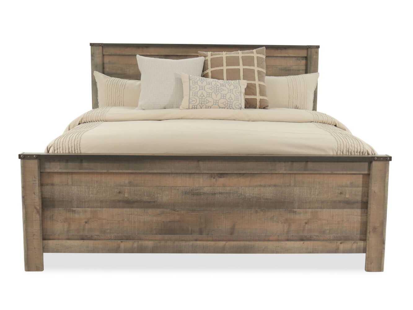 Ashley Trinell Panel Bed Mathis Brothers Furniture