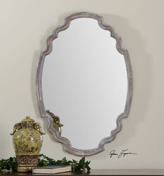 Uttermost Ludovica Aged Wood Mirror