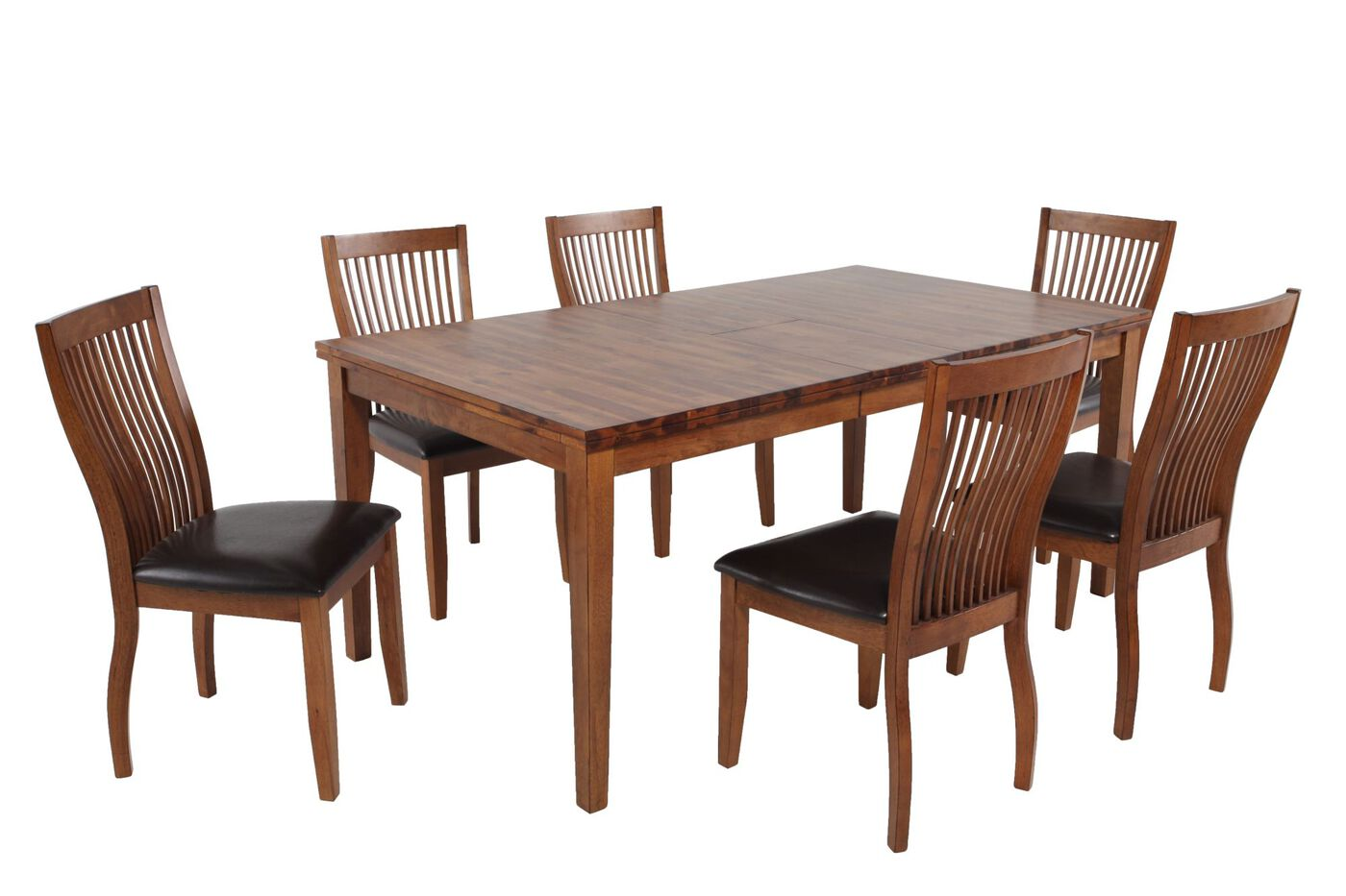 winners only broadway seven piece dining set: seven piece dining set