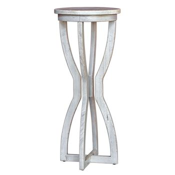 Uttermost Noreena Wood Plant Stand