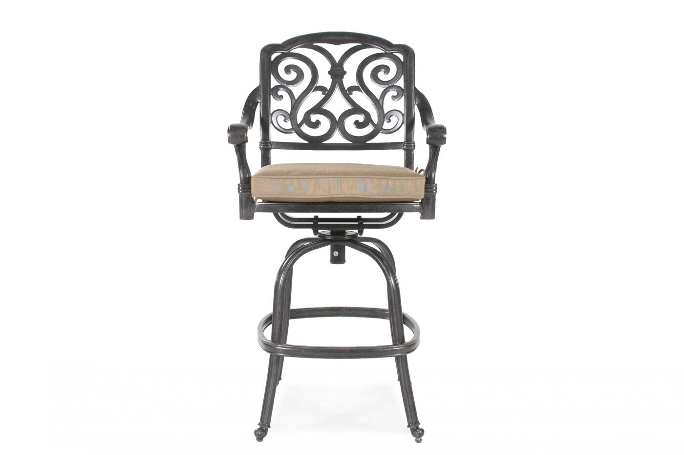 World Source St Louis Swivel Bar Stool with Cushion  : WSO LD17775E0477 from www.mathisbrothers.com size 1400 x 933 jpeg 57kB
