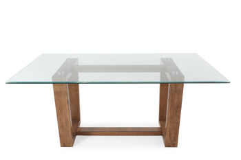 """Winners Only Encore 70"""" Glass Table"""