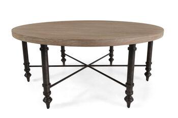 Bernhardt Antiquarian Round Cocktail Table