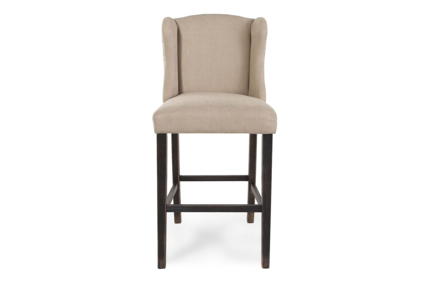 Ashley Moriann White Pair Of Bar Stools Mathis Brothers