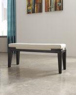 Ashley Trishelle Ivory Double Upholstered Bench