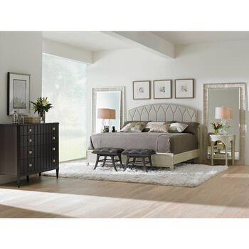 Stanley Crestaire Capiz Ladera California King Bed
