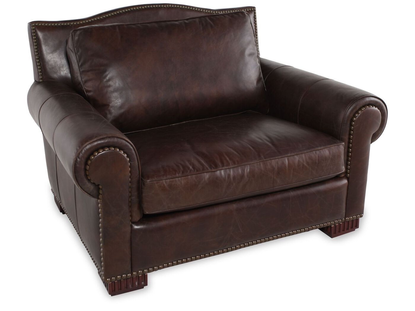 Leather Chair And A Half