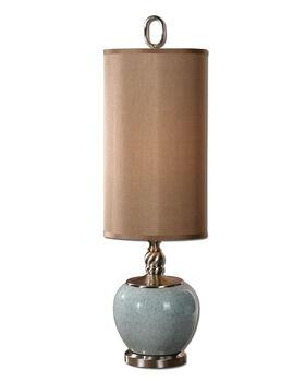 Uttermost Lilia Light Blue Buffet Lamp