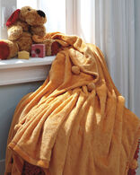 Ashley Aniol Orange Throw
