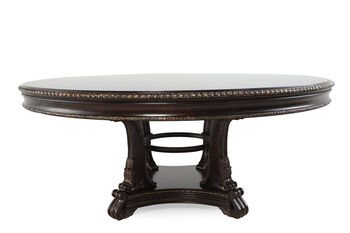 A R T Furniture Gables Round Dining Table Mathis Brothers Furniture