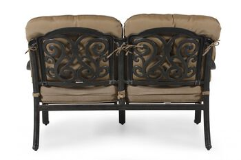 World Source St. Louis Loveseat with Cushion