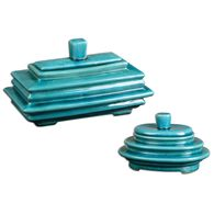 Uttermost Indra Bright Blue Boxes S/2