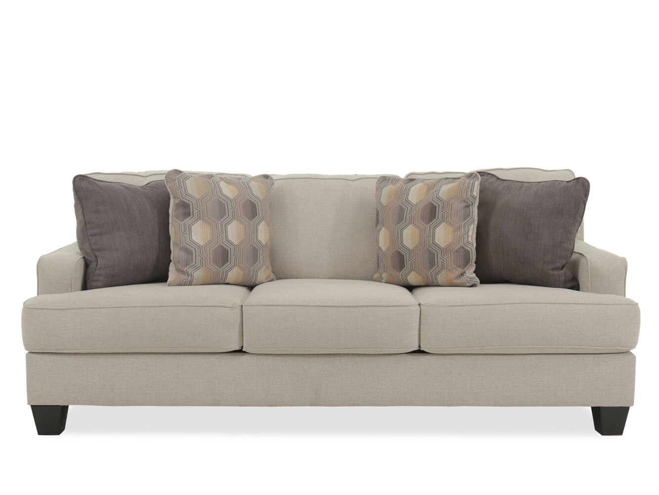 Ashley Brielyn Linen Sofa Mathis Brothers Furniture