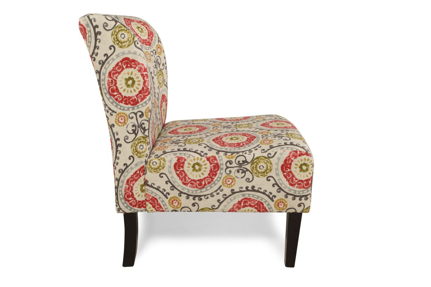 Ashley Honnally Floral Accent Chair Mathis Brothers Furniture