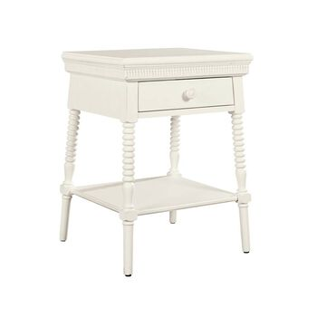 Stone & Leigh Smiling Hill Marshmallow Bedside Table