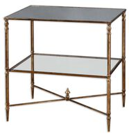 Uttermost Henzler Mirrored Glass Lamp Table