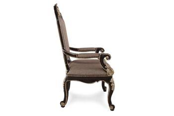 Caracole Mezzanotte Grandeur Arm Chair