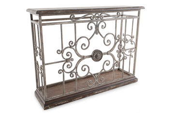 Hooker Chatelet Metal Console