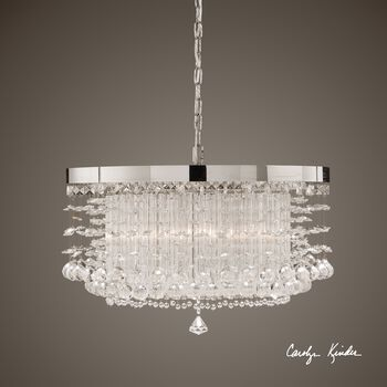 Uttermost Fascination 3 Light Crystal Chandelier