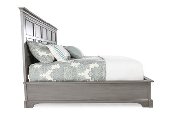 Stanley Transitional King Panel Bed