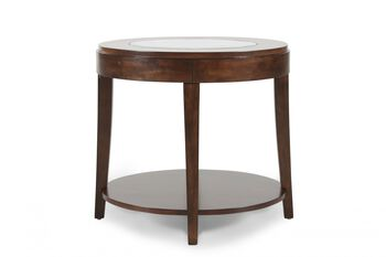 Magnussen Home Keaton Oval End Table