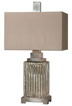 Uttermost Canino Mercury Glass Table Lamp