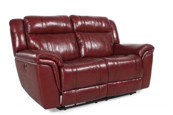 Boulevard Chili Pepper Burgundy Reclining Loveseat