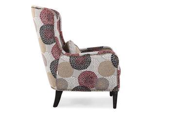Boulevard Floral Splash Accent Chair