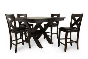 Winners Only Edgewater Espresso Five-Piece Pub Set