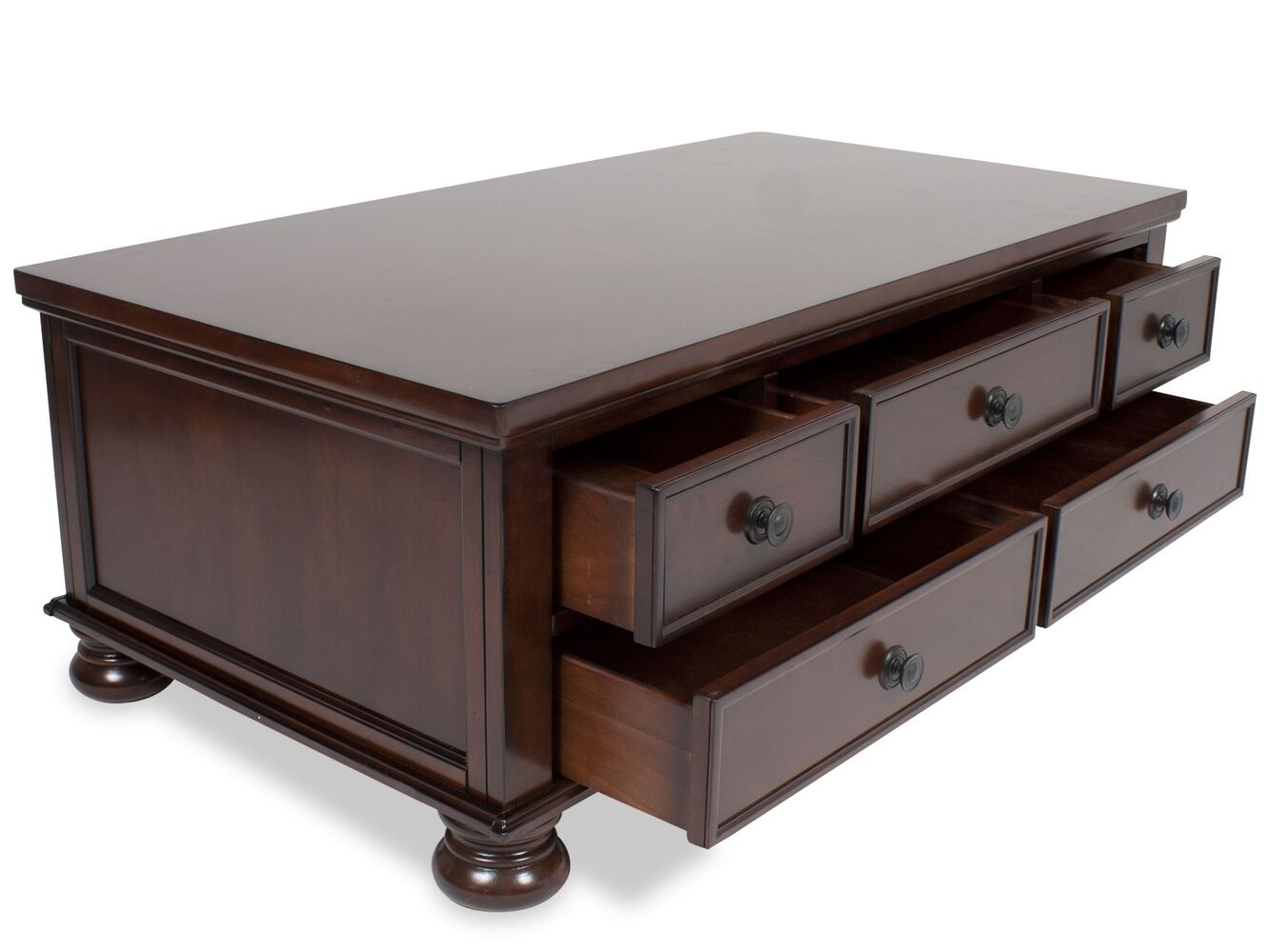 Ashley Porter Storage Cocktail Table Mathis Brothers