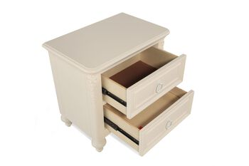 Samuel Lawrence Sweetheart Two Drawer Nightstand with Power Pack