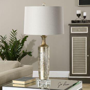 Uttermost Valdieri Metallic Bronze Lamp